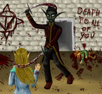 the Unknown the crazy killer by Link-of-the-twilight