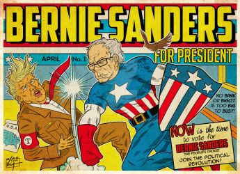 Bernie Sanders: The Star-Spangled Man with a Plan by Twinsvega