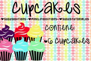 Cupcakes by PinkLifeEditions