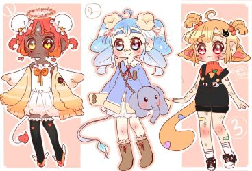 CHIBI ADOPT BATCH CLOSED by ewero
