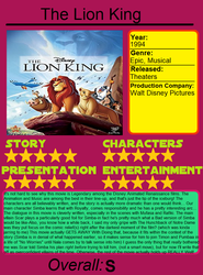 Initial Thoughts: The Lion King by JIMATION-AKA-LX