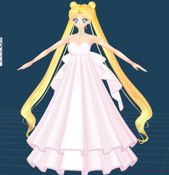 Princess Serenity Comish by chatterHEAD