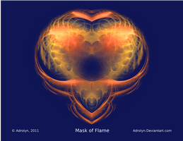 Mask of Flame by Adrolyn