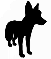 Fox silhouette by Sableyes