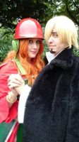 Nami and Sanji Movie Z by Lucy-chan90