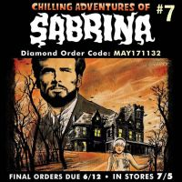 Sabrina #7 final orders today! by RobertHack