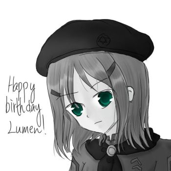 Happy Birthday Lumen by CorenB