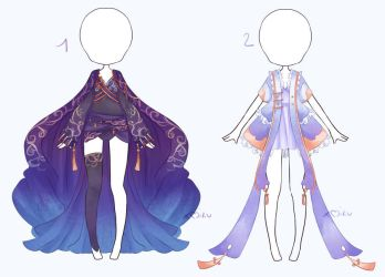 {1/2 Open} SB 5$ - Auction Outfit 273 - 274 by xMikuChuu