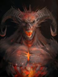 Demon by Manzanedo