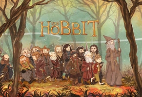 THE HOBBIT by seki0930