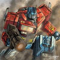 Optimus Prime by J-Caro