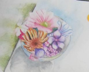 My first water colour painting by cleopatra64