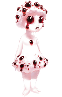 Bloody Tooth Shroom Girl by Rosemoji