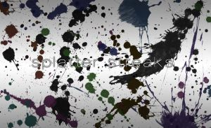 Paint Splatter Brushes by Zyux