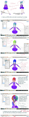 How to fix non-moving mmd parts/rigging tut by Ekkoberry
