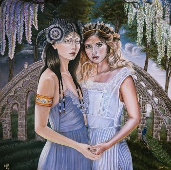 Sisters Of Babylon by plantiebee
