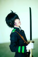 Yuichiro Hyakuya Demon Possession by Smexy-Boy