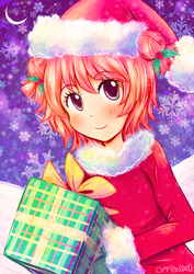 Merry Akarin! ~ Commission for Bacon by opiatepie