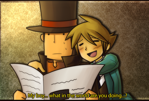 Why it sucks to be Layton - 1 by chienoir