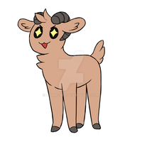 Emotions Goat ANIMATED by lunar-neo