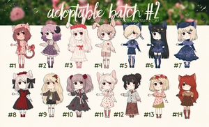 ~CLOSED~ REDUCED PRICE, Adopt Batch #2 by ANMITSU-adopts
