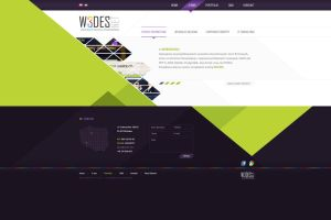 Company Web Layout by nonlin3