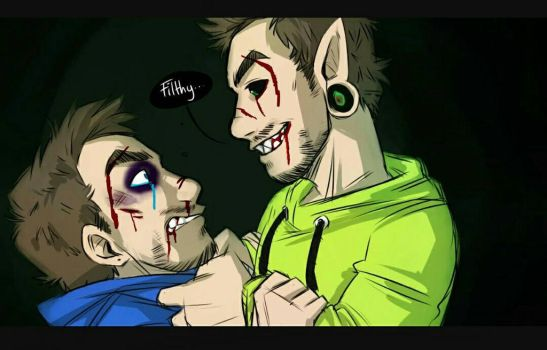 AntiSeptic vs Jack by redpandaisawesome