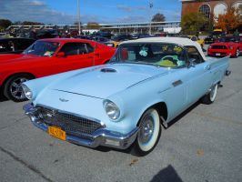 1957 Ford Thunderbird Convertible III by Brooklyn47