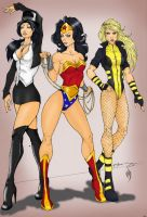 Show me your dc colored by TheRoseOfDeath