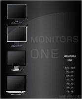 MONITORS ONE by borncold