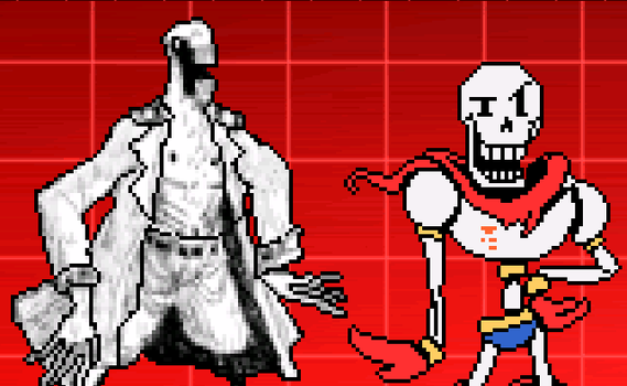 I found out that Papyrus was based on Dedan by MickessTUFF6