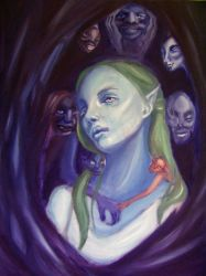The Goblin Queen :painting: by dustfae