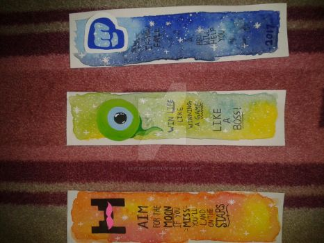 Galaxy Bookmarks by SkylerSkyhigh