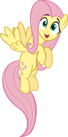 Excited Fluttershy by RelaxingOnTheMoon