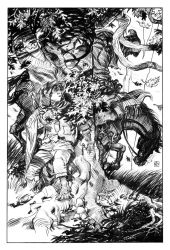 Frodo and the Black Rider by deankotz