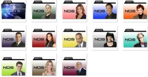NCIS Folder Icons by nellanel