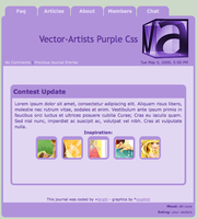 Vector-Artists Purple by vector-artists