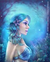 Water Goddess by ftourini