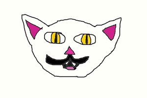 Mustache Cat! by BLOODYALICE22