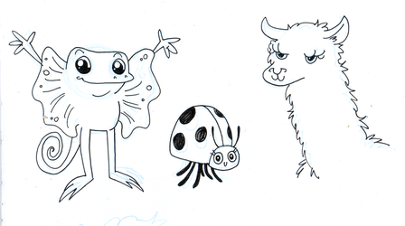 L creatures by fossick