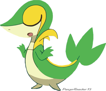 Snivy just doesnt care by PanzerKnacker73