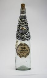 Yog sothoth Bottle by FraterOrion
