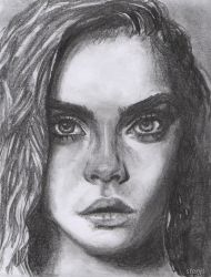 Cara Delevingne by Sterys
