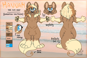 Reference: Hannah by Pawltergeist