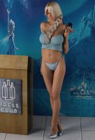 Elsa In A Bikini Bottom At A Press Conference by SeeJoe