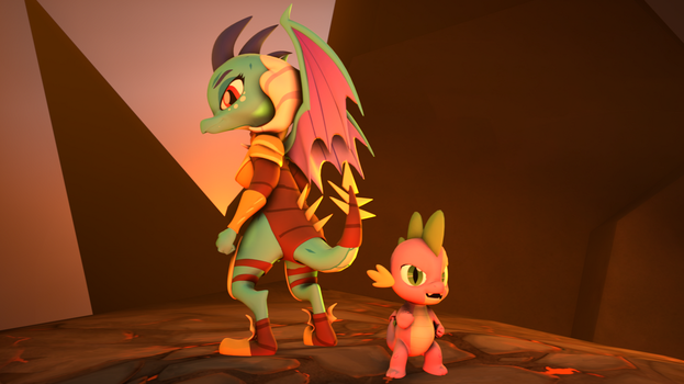 [SFM] The Two Best Dragon Friends by Jarg1994