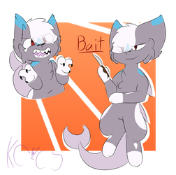 Bait quq redesign by Kittencloudy4u