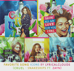 Favorite Song Icons by KennyJennur