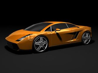 Lamborghini Gallardo Orange by HolgerL