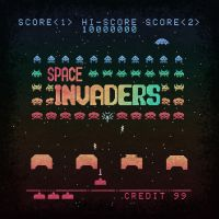 Invader Space by likelikes